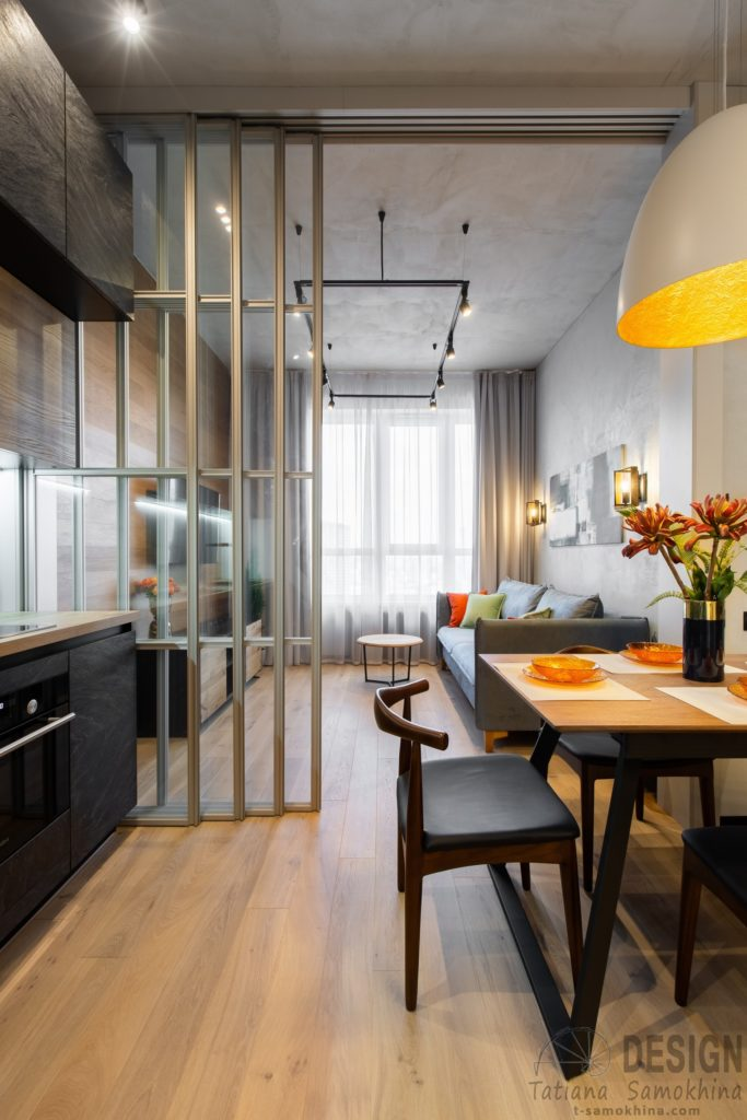 Квартира в стиле минимализм ЖК «Сердце Столицы»